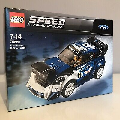 LEGO SPEED CHAMPIONS 75885 FORD FIESTA M-SPORT WRC Rally Racing Car Driver Set
