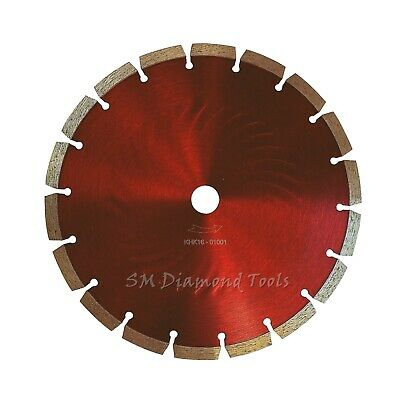 3-pack 7-inch Segment Diamond Blade Cutting Paving Stones Concrete Brick Block