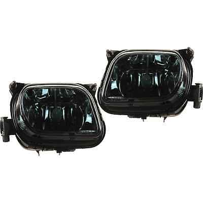 Nebelscheinwerfer Set für CLK W208 W210 SLK R170 Bj.95-04 klar schwarz