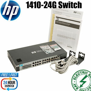HP-V1410-24G-Switch-24-Port-unmanaged-Gigabit-Switch-10-100-1000Mbps-Small-form