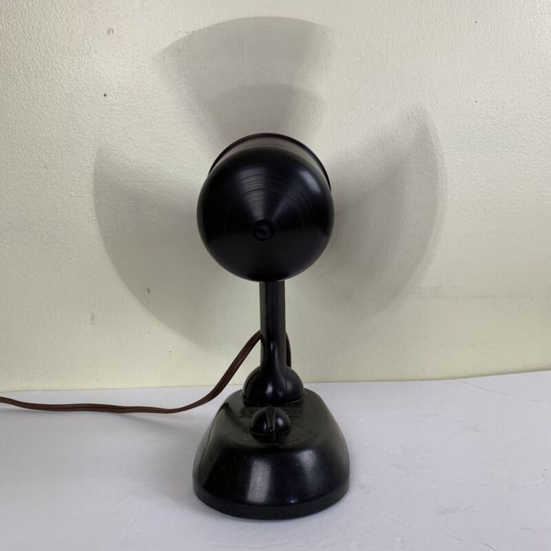 Vintage 1930's Singer Ribbonaire Electric Fan - two speeds Read Description RARE