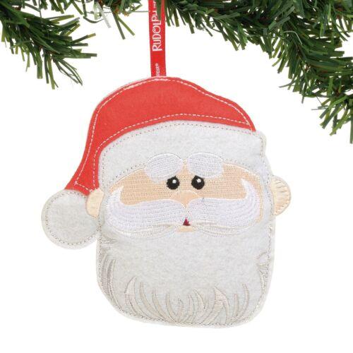 Santa Felt Ornament Dept 56 Rudolph The Red Nosed Reindeer Christmas New