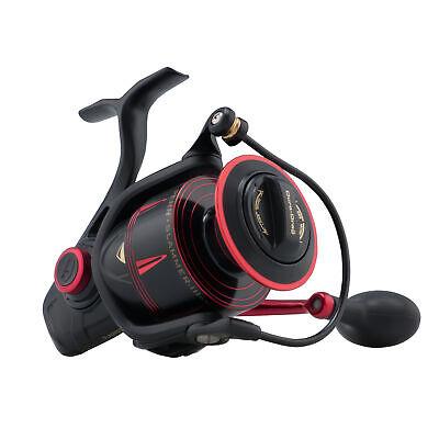 PENN Slammer III 6500 High Speed Spinning Fishing Reel - Black/Red - Free Ship