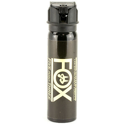 (PS Fox Labs 5.3 Tactical Police 3oz Flip-Top Fog Pattern Defense Pepper Spray)