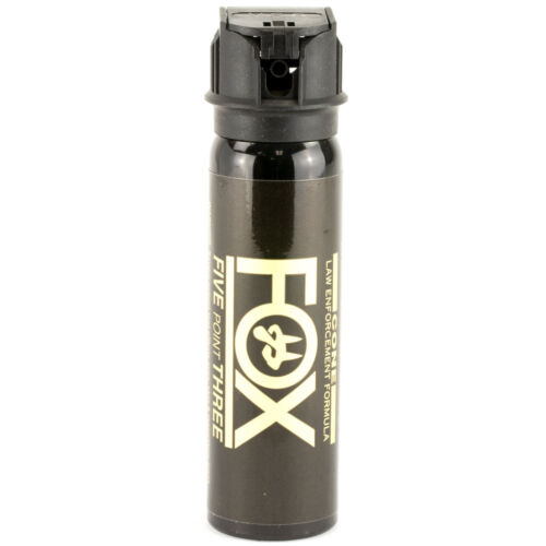 FOX LABS 5.3 Tactical Police 3oz Flip-Top Fog Pattern HOT Defense Pepper Spray