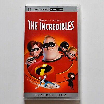 The Incredibles Disney Pixar PSP Movie (UMD, 2005) - FREE SHIPPING!