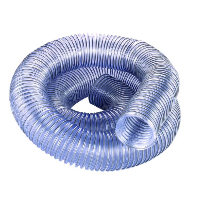 """2.5"""" Diameter Clear Dust Collection Hose"""