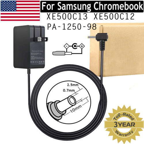 For Samsung Chromebook 3 XE500C13 2 XE500C12 PA-1250-98 12V