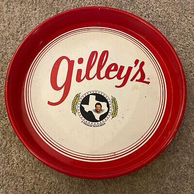 VTG/Antique Gilley's A Premium Texas Beer Advertising Tray - Pasadena, Texas