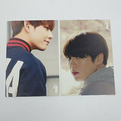 BTS PUMA Blaze Time V, JUNGKOOK Event Photocard K-POP Bangtan boys Goods Used