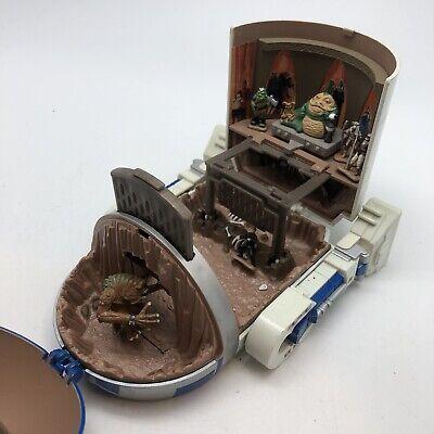 STAR WARS MICRO MACHINES TATOOINE PLAYSET R2D2 Luke Skywalker Jabba The Hut More