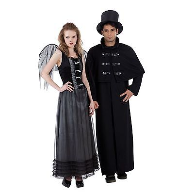 NEW Fallen Angel Goth Vampiress Totally Ghoul Women's Costume One Size fits - Fallen Angel Costumes For Women