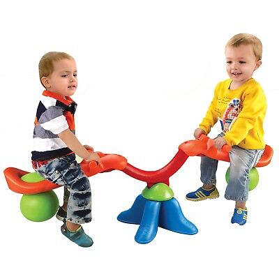 Kingsport Kids Real Action Seesaw Children Toddler See Saw Rotating Garden NEW