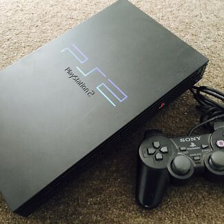 PS2 console and controller - tested and works great