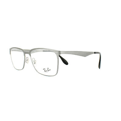Ray-Ban Glasses Frames 6344 2553 Brushed Gunmetal  54mm Mens