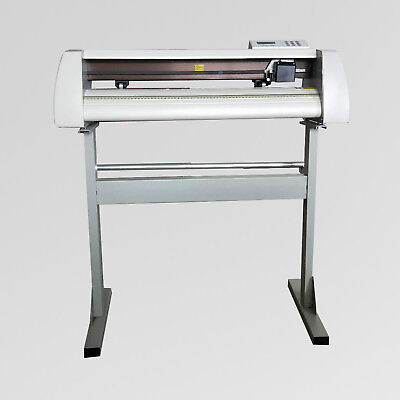 24 Gjd Cutting Plotter Vinyl Cutter Gjd-720 With Artcut2009 Software New Brand