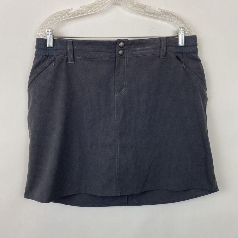 Kuhl Skort Skirt Shorts Womens 14 gray
