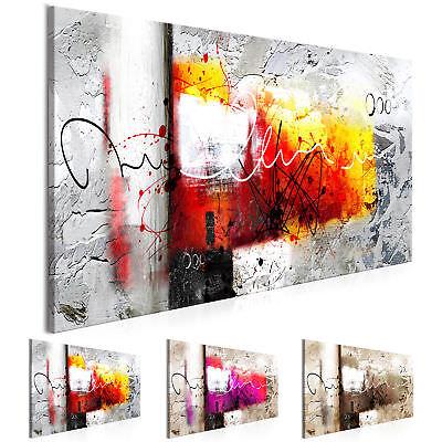 Moderne Kunst abstrakte Bilder auf Leinwand Bilder xxl Kunstdruck a-A-0331-b-b ()