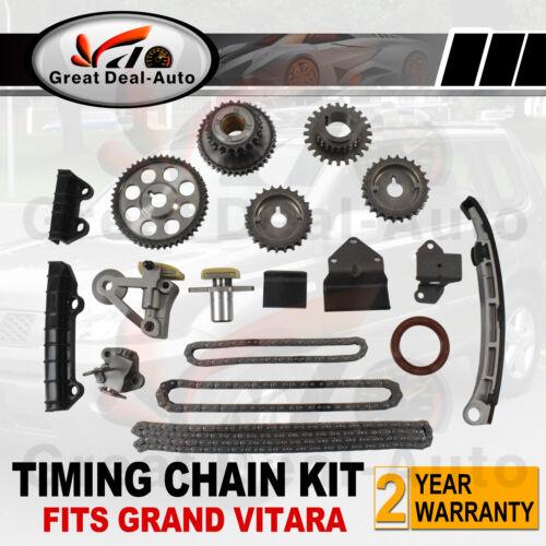 Complete Timing Chain Kit For Suzuki Grand Vitara 2 5l