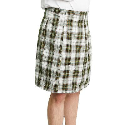 SCOTTISH KILT Tartan Green Plaid Golf COSTUME Adult Men's Standard XXL Plus