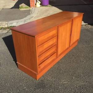 mid century style cabinet,sideboard,entertainment unit WE CAN DELIVER