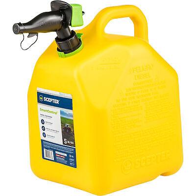 Scepter Smart Control Diesel Fuel Can - 5-gallon Yellow Model Fr1d501
