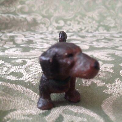 Vintage Miniature DACHSHUND Dog Figurine Cast Iron for sale  Chatham