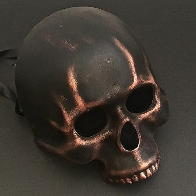 Halloween-half-skull - (Dreamlike Halloween Half Skull Dismal Party Mask)