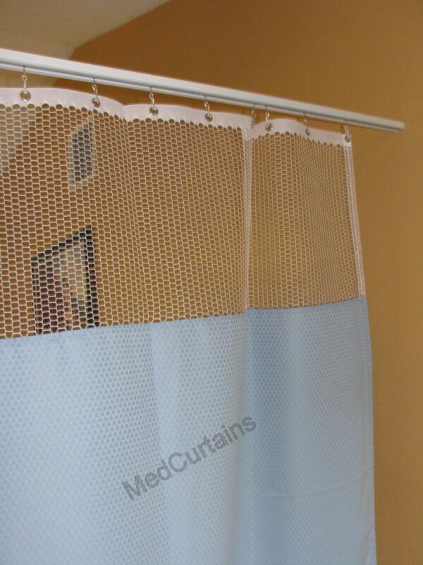 Curtain Bluemoon 144x93 HOSPITAL CLINIC LAB Antibacterial Antimicrobial medical