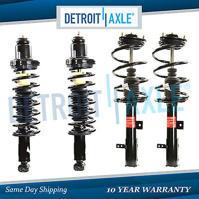 4 Front and Rear Strut w/ Coil Spring Kit for 2007 - 2016 Dodge Caliber Compass