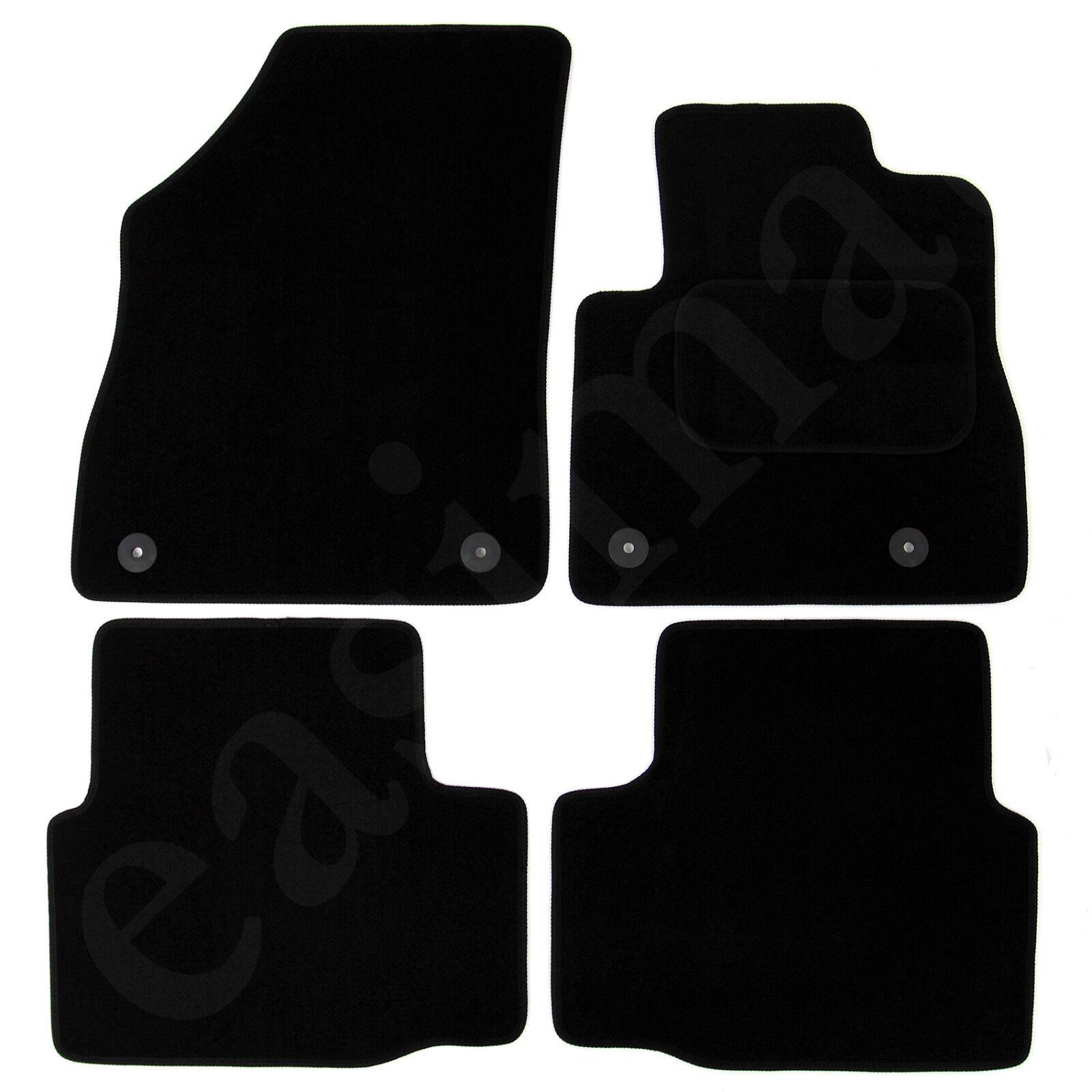 Car Parts - Vauxhall Astra K Mk7 2015 onwards Tailored Carpet Car Mats Black 4pc Floor Set