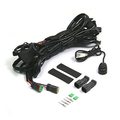 Spot / Fog Light Wiring Loom Harness Kit fits all Cars Vans ATV 4x4 UNIVERSAL