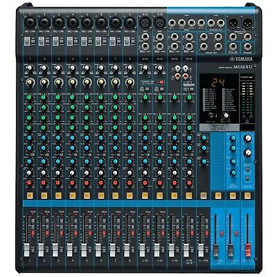 Yamaha MG16XU 16-Input 6-Bus DJ PA Audio Mixer Mixing Console with Effects & USB for sale  Ronkonkoma