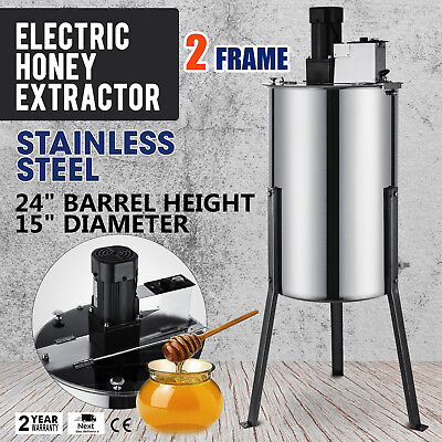 24 Frame Honey Extractor Beekeeping Equipment Large Stainless Steel Electric