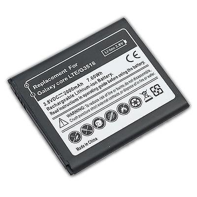 Akku für original Samsung Galaxy Core LTE, Galaxy Core Plus, G3518 Accu...