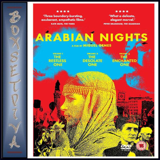 ARABIAN NIGHTS 1 2 & 3  *BRAND NEW DVD**