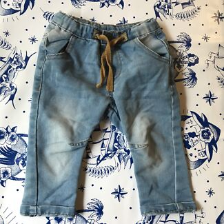 Zara baby 9-12 m jeans