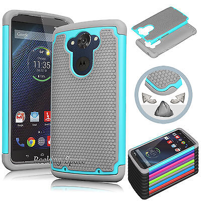 Turbo Rubber - Shockproof Dirt Dust Proof Hard Phone Case Cover For Motorola Droid Turbo XT1254