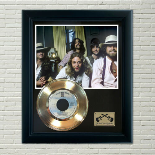 "Eagles ""Hotel California"" Framed Record Display"