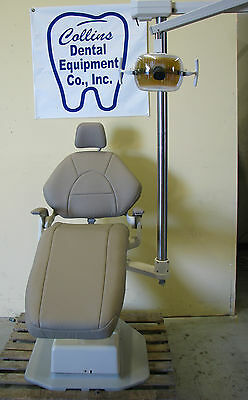 A-dec Decade Dental Patient Chair Wnew Upholstery Adec 6300 Operatory Light