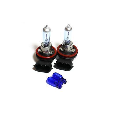 Peugeot 4007 H7 H11 501 100w Super White Xenon HID High//Low//Side Headlight Bulbs