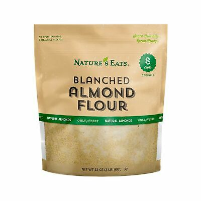 Nature's Eats Blanched Almond Flour 32Ounce Gluten Free wonderful baking Natural