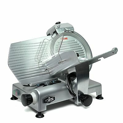 Kws Premium Commercial 420w Electric Meat Slicer 12 Frozen Meat Deli Slicer