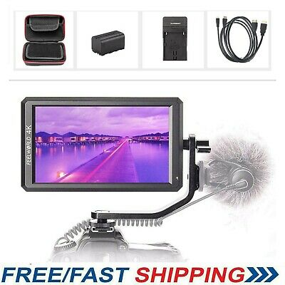 """FeelworldF6 Professional Grade 5.7"""" IPS 4K HDMI Camera Video Monitor for Gimbal"""