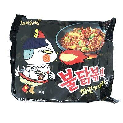 Samyang Korean Popular Buldak Bokeum Ramyun 140g Spicy Noodle Soup Instant Food