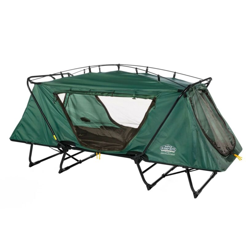Kamp-Rite Oversize Tent Cot Folding Camping & Hiking Bed for 1 Person (Used)