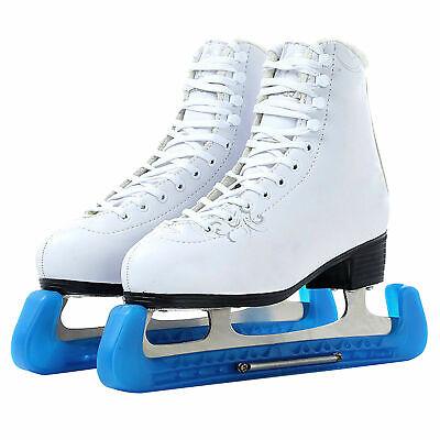 Plastic Ice Hockey Figure Skate Walking Blade Guards Protector Covers Adjustable