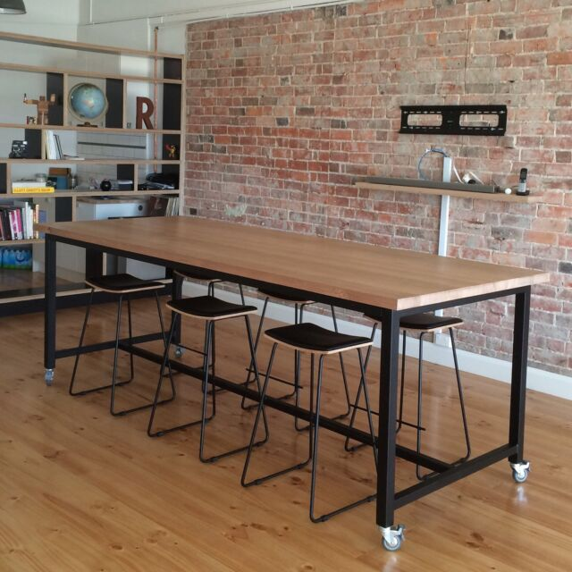Kitchen Bench Gumtree: BESPOKE ISLAND BENCH TIMBER CUSTOM From