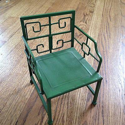 15-18 Inch Doll Metal Lawn Chair Green Modern Furniture