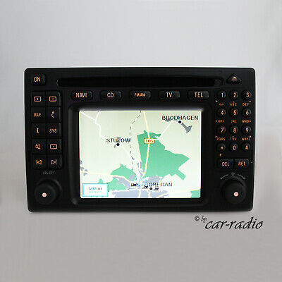 Original Mercedes Comand 2.0 DX W163 Navigationssystem M ML A1638203689 GPS